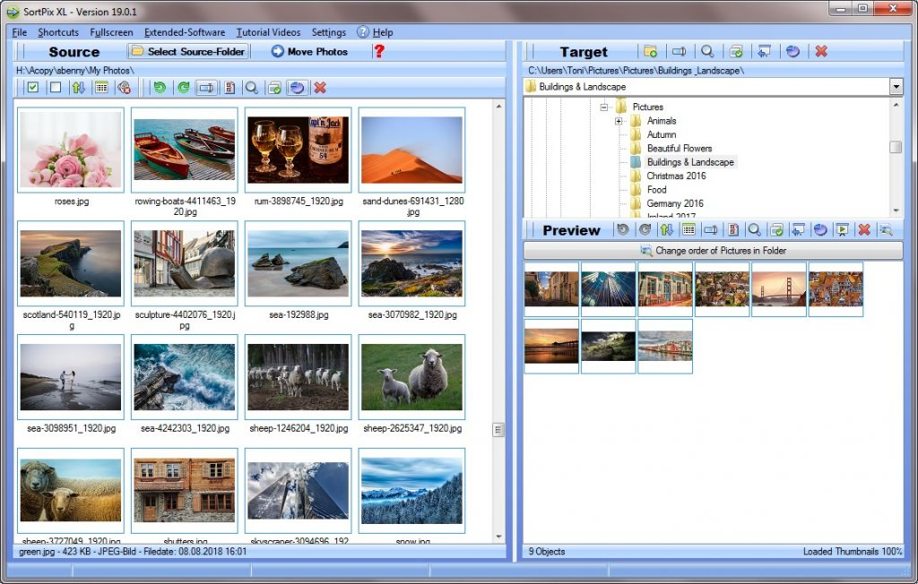 Photo management software